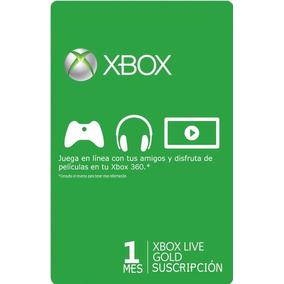 Membresia Gold (esd) Xbox Live 1 Mes Original Juegos Gratis