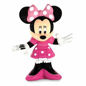Mickeymouse Clubhouse Figura, Colecionáveis Minnie - Fisher