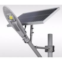Lamparas Solar Led 30w Alumbrado Luminaria Panel Recargable