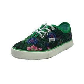 Zapatillas Niños Gaelle Azul, Verde/flor Moda Chicos Kids
