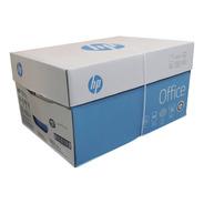 Caja 10 Resmas Hp Office A4 75g X 500 Hojas Total 5000 Hojas