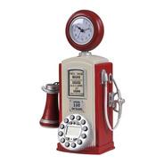 Telefone Com Fio Retro Bomba De Gás E Gasolina Vintage