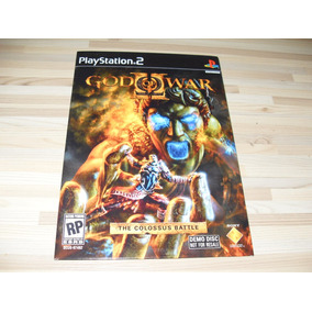 God Of War The Colossus Battle Demo Disc Ps2 Playstation 2