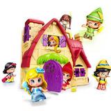 Pinypon Casa De Cuentos 1 Figura + Acc Int 12406 Pin&pon