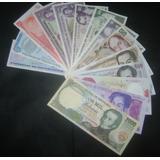 Coleccion De 30 Billetes,14 Unc Y 16 Circulados Bs 68.200.
