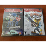 Pack Juegos Playstation 2 Ps2 Originales Nuevos Sellados
