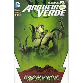 Livro Os Novos 52 ! Arqueiro Verde #5 - Segredos Mortais !