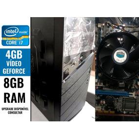Cpu Gamer Intel Core I7 8gb Ram Geforce 4gb Pc Desktop