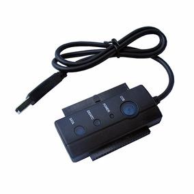 Cable Adaptador Usb2.0 A Sata/ide Disco Rigido Con Fuente