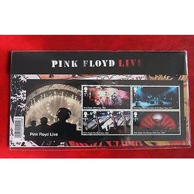 Exclusivo Selos Folha Completa Pink Floyd Correio Britânico