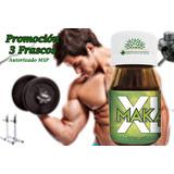 Agranda Aumenta Fortalece Músculos Fuerza Pelo 3 Frascos