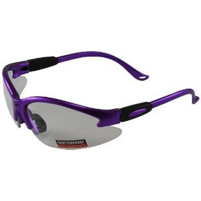 Global Vision De Seguridad Tienda Gafas (purple Frame / Lent