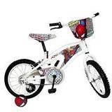 Bicicleta Spiderman Para Niños Rin 16