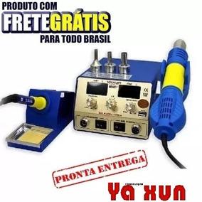 Estação Solda Retrabalho Yaxun 886d+,yx886d+ 220v 2display.