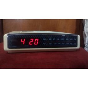 Radio Relógio Phillips Anos 90 Perfeito!