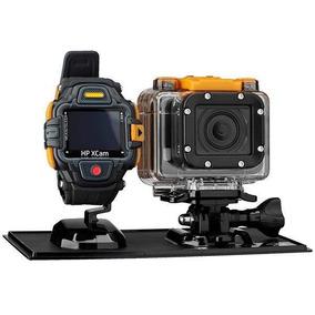 Câmera De Ação Hp Ac300w 16mp Tela Oled De 0.83 Com Wi-fi