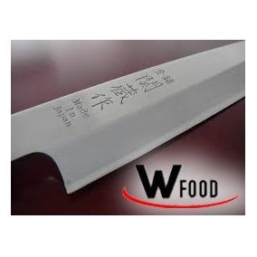 Faca Sushi Sashimi Aço Alto Carbono Japonesa Sekiryu Ut Jp
