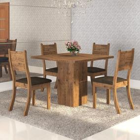 Conjunto Mesa 4 Cadeiras Arcor Viero