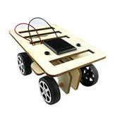 Ezoe `s De Madera Diy Solar Kit De Coche - Solar Powered