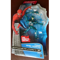 Spider-man Poison Blast Scorpion Water Shooting Tail!
