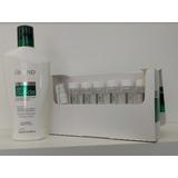 Kit Shampoo Com Tônico Antiqueda Amend Fortificante 7 Flacon