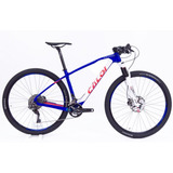 Bicicleta 29 Caloi Elite Carbon Team 2018 Xtr22v 17 19