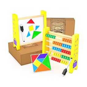Ábaco Para La Matemáticas De Los Niños: Juguetes Educativos