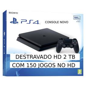Playstation 4 Play 4 Ps4 +2tb Hd Desbloqueado/destravado