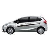 Adesivo Fit New Honda Faixa Lateral Peças Acessórios M2 La