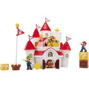 Castillo Del Reino Champiñon Super Mario Luigi Peach Bowser