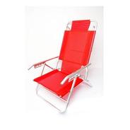 Reposera Playa Descansar 80012 Aluminio Center Hogar