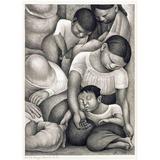 Lienzo Tela Arte Canvas La Siesta Diego Rivera 1932 67 X 50