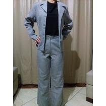 Conjunto Social Feminino De Lees Moda Blazer E Calça