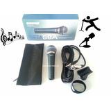 Microfono Shure Alámbrico Beta 58a Con Estuche