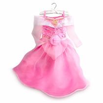 Disfraz Vestido Aurora Bella Durmiente Disney Store Talles