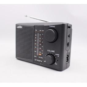 Radio Am/fm Tv Usb /sd Portátil C/controle
