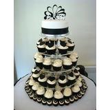 Soporte Para Cupcakes Y Mini Tortas. Alquiler!!!!
