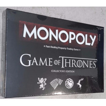 Monopoly Game Of Thrones, Ed. De Colección Original/oficial