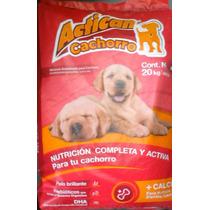 Actican Croqueta Cachorro 25%proteina Envio Gratis Republica
