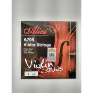 Cuerda Suelta 1era E Mi De Violín 4/4 Alice A705e