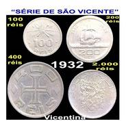 Moedas Do Brasil Série De São Vicente (vicentinas)-veja Foto