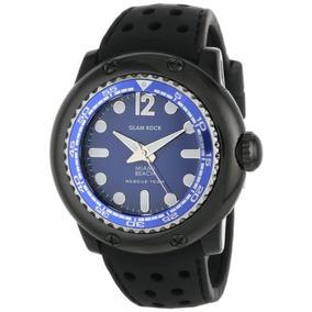 Glam Rock Reloj Mb26015 Miami Beach Rescue Team Blue Dial