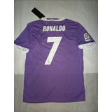 Camiseta Real Madrid 2017 Niños - #7 Ronaldo -