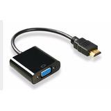 Cable Hdmi A Vga Pc Laptop Adaptador Conector Micro Mini*