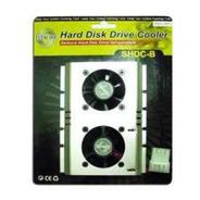 Cooler Hd 2 Ventiladores Shdc-b(s)
