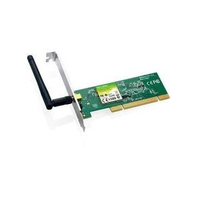 Adaptador Pci Wireless Tp-link Tl-wn751nd De 150150mbps E Pc