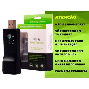 Adaptador Rede Sem Fio Wireless Wifi Smart Tv Universal T98