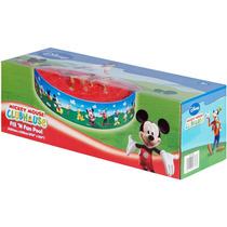 Mickey Mouse Pileta Semirigida 183 Cm X 38 Cm Bunny Toys