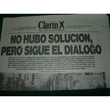 Guerra Islas Malvinas Clip Clarin 11/4/82 Solucion Dialogo