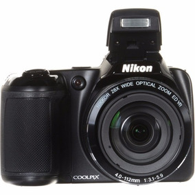 Câmera Nikon Coolpix L340 20.2 Mp 28x Zoom Preta 12x S/juros